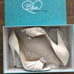 "Betsey Johnson ""Blue"" shoes"